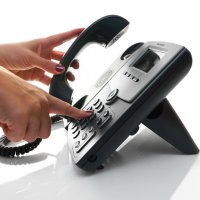Service by Telephone